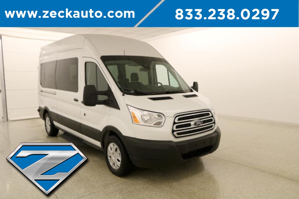 Pre-Owned 2019 Ford Transit-350 XLT High Roof 15 Passenger Van
