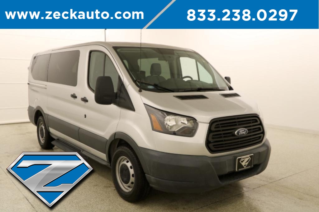 Pre-Owned 2016 Ford Transit-150 XL Low Roof 8 Passenger Wagon