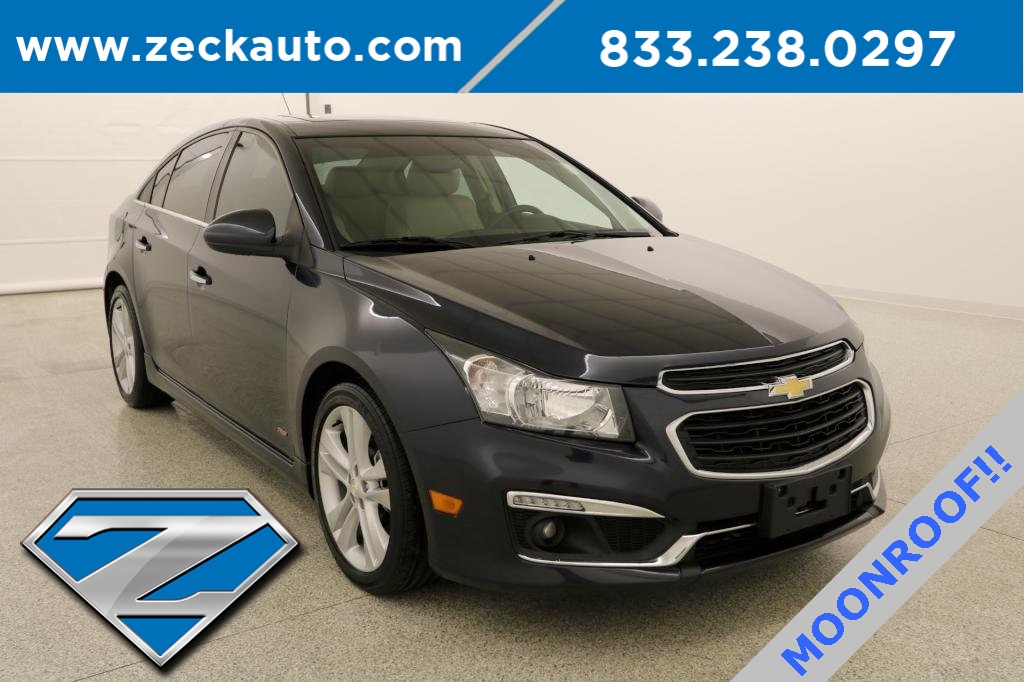Pre Owned 2015 Chevrolet Cruze Ltz 4d Sedan In Purcell F24520a