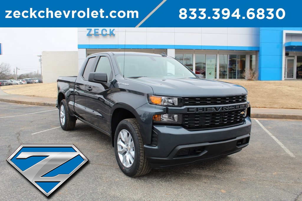 New 2019 Chevrolet Silverado 1500 Custom Double Cab In Purcell
