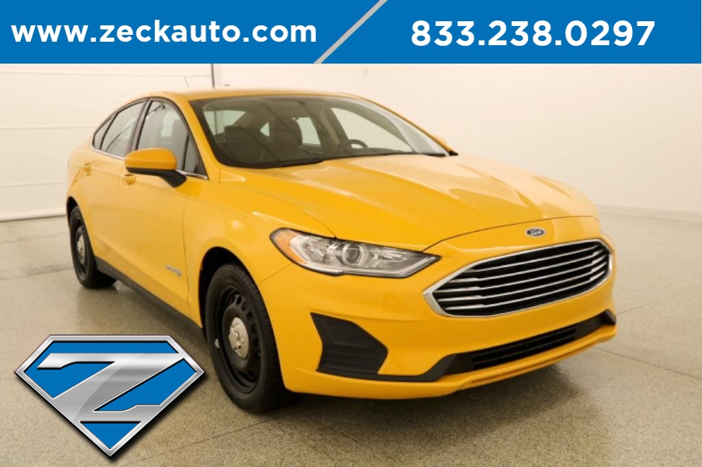 Pre-Owned 2019 Ford Fusion Hybrid Base