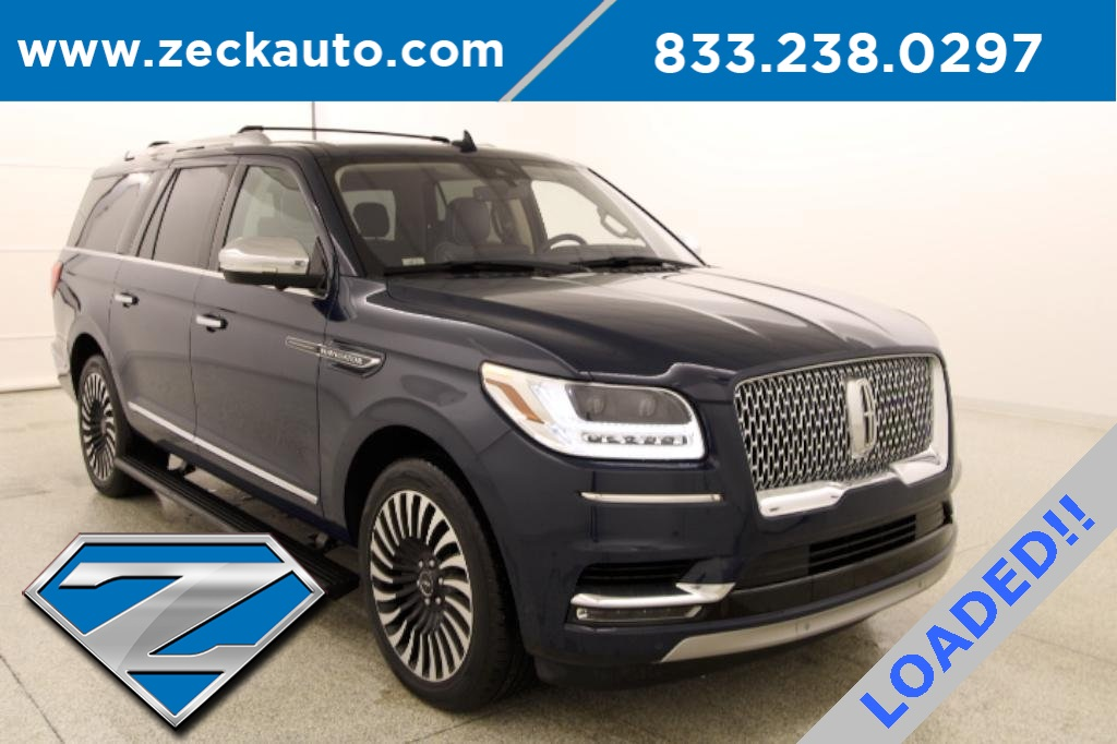 Pre-Owned 2018 Lincoln Navigator L Black Label