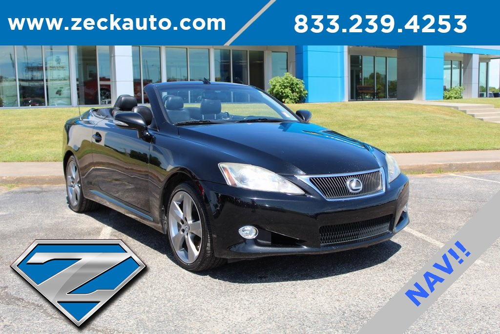 Pre Owned Lexus >> Pre Owned 2010 Lexus Is 350 C With Navigation