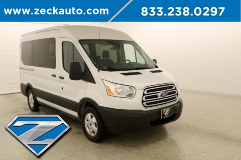 Pre-Owned 2019 Ford Transit-150 XLT Medium Roof 10 Passenger Wagon