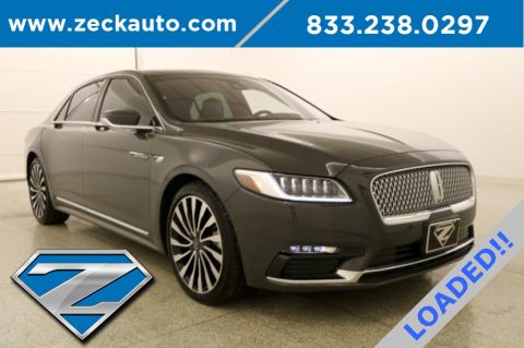 Pre-Owned 2018 Lincoln Continental Black Label