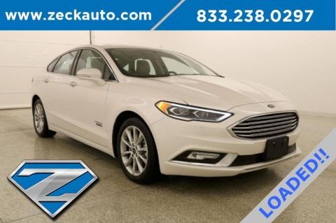 Pre-Owned 2017 Ford Fusion Energi SE Luxury